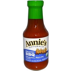 Аннис Натуралс, Organic BBQ, Original Recipe Sauce, 12 oz (340 g) отзывы