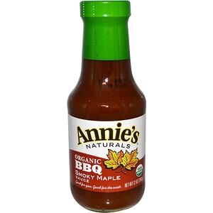 Аннис Натуралс, Organic BBQ Smokey Maple Sauce, 12 oz (340 g) отзывы