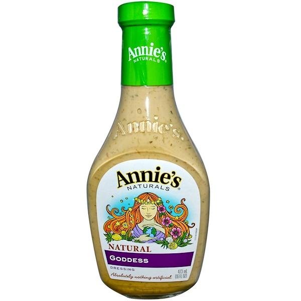 Annie's Naturals, Натуральный соус «Богиня», 16 жидк. унц. (473 мл)