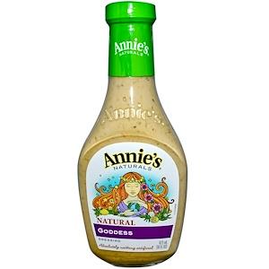 Annie's Naturals, Натуральный соус «Богиня», 16 жидк. унц. (473 мл) инструкция, применение, состав, противопоказания