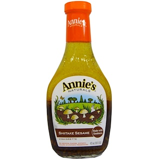 Annie's Naturals, Shiitake Sesame Vinaigrette, 16 fl oz (473 ml)