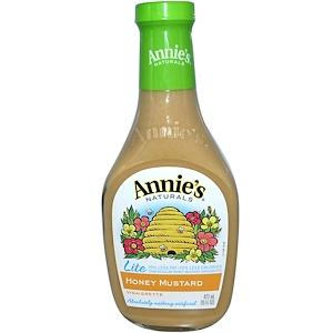 Аннис Натуралс, Lite, Honey Mustard Vinaigrette, 16 fl oz (473 ml) отзывы покупателей