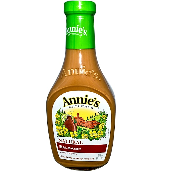 Annie's Naturals, Natural Balsamic Vinaigrette, 16 fl oz (473 ml) (Discontinued Item)