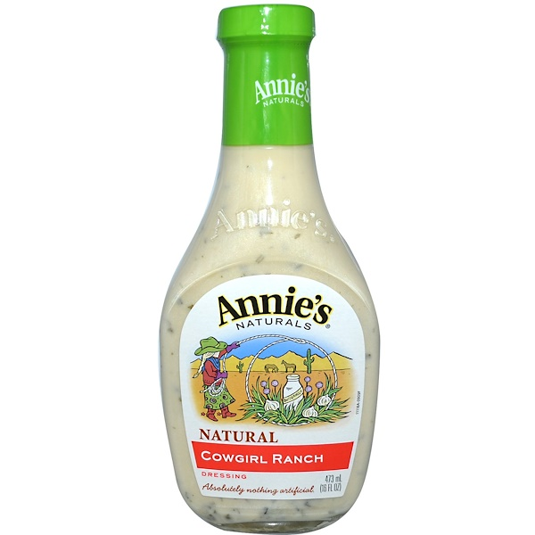 Annie's Naturals, Cowgirl Ranch Dressing, 16 fl oz (473 ml) (Discontinued Item)