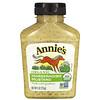 Annie's Naturals, オーガニック, ホースラディッシュ・マスタード, 9 oz (255 g)