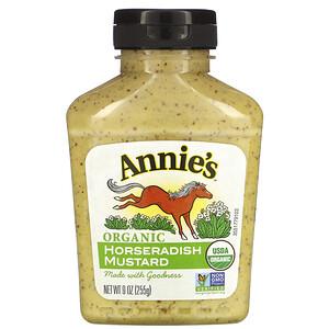 Аннис Натуралс, Organic, Horseradish Mustard, 9 oz (255 g) отзывы