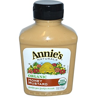 Annie's Naturals, Organic, Honey Mustard, 9 oz (255 g)