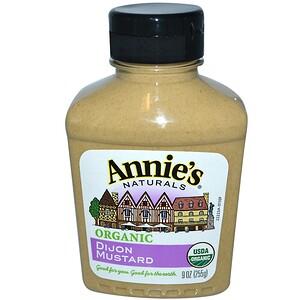 Аннис Натуралс, Organic, Dijon Mustard, 9 oz (255 g) отзывы