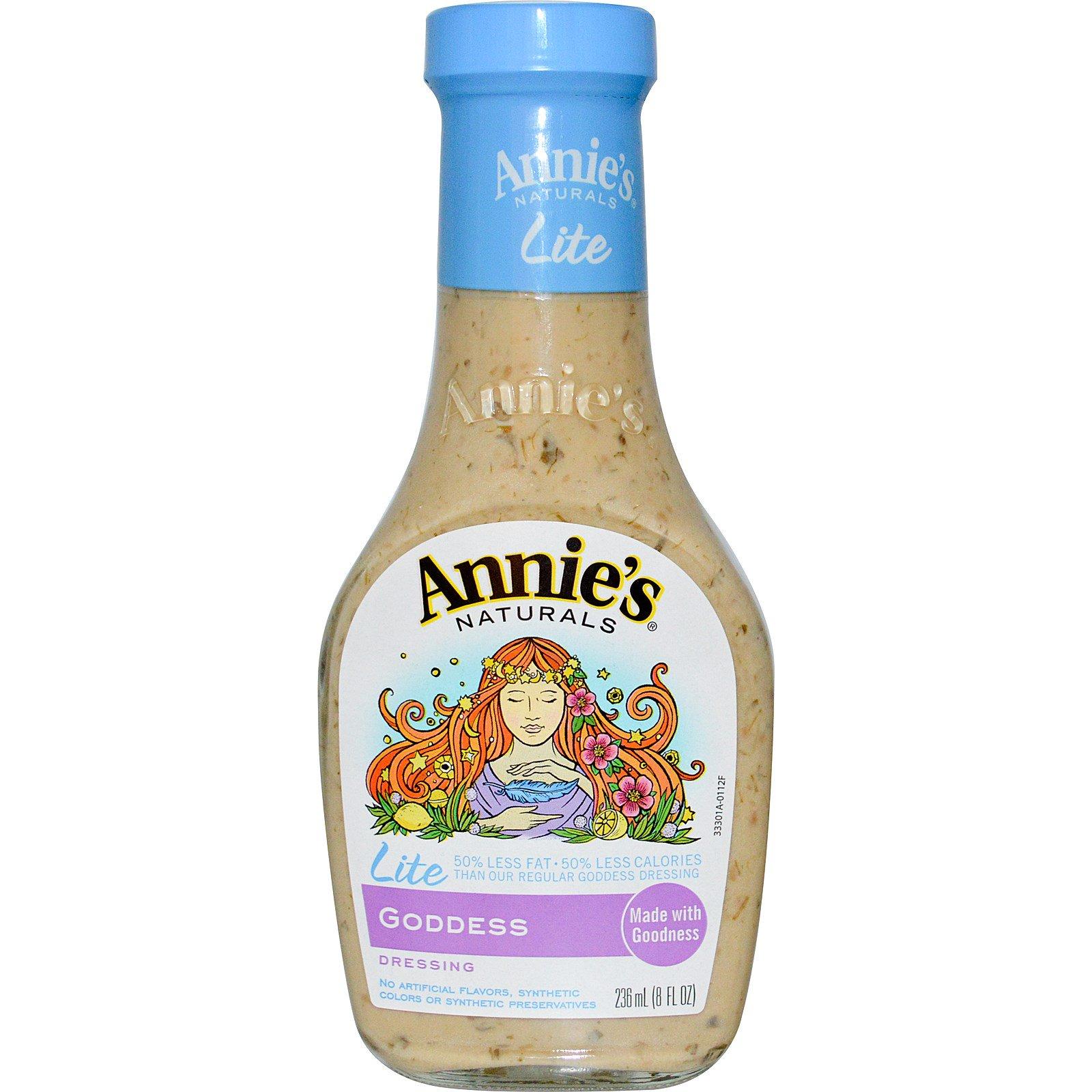 "Annie's Naturals, Заправка ""Легкая богиня"", 236 мл (8 жидких унций)"