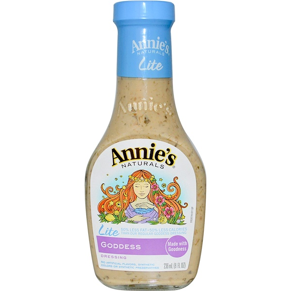 Annie's Naturals, Lite, Goddess Dressing, 8 fl oz (236 ml) (Discontinued Item)