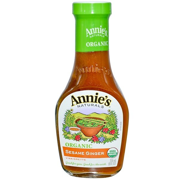 Annie's Naturals, Organic, Sesame Ginger Vinaigrette, 8 fl oz (236 ml) (Discontinued Item)