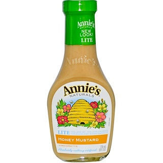 Annie's Naturals, Lite, Honey Mustard Vinaigrette, 8 fl oz (236 ml)