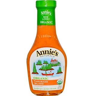 Annie's Naturals, Organic Thousand Island Dressing, 8 fl oz (236 ml)