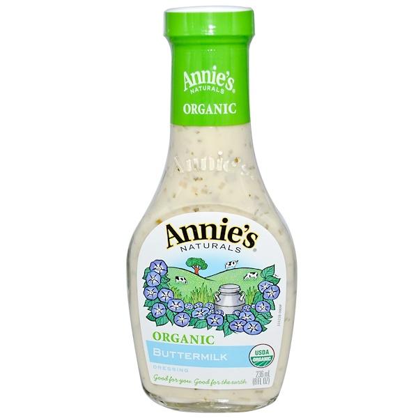 Annie's Naturals, Organic, Buttermilk Dressing, 8 fl oz (236 ml) (Discontinued Item)