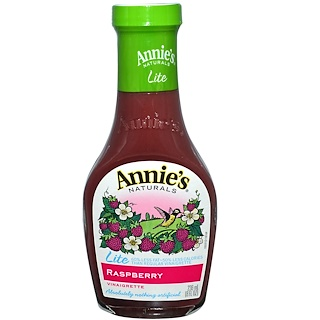 Annie's Naturals, ライト、 ラズベリードレッシング、 8 fl oz (236 ml)