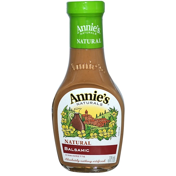 Annie's Naturals, Натуральная бальзамическая уксусная заправка, 8 жидк. унц. (236 мл) (Discontinued Item)