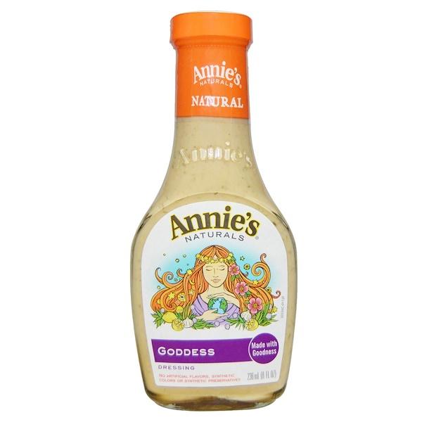 Annie's Naturals, Goddess Dressing, 8 fl oz (236 ml) (Discontinued Item)