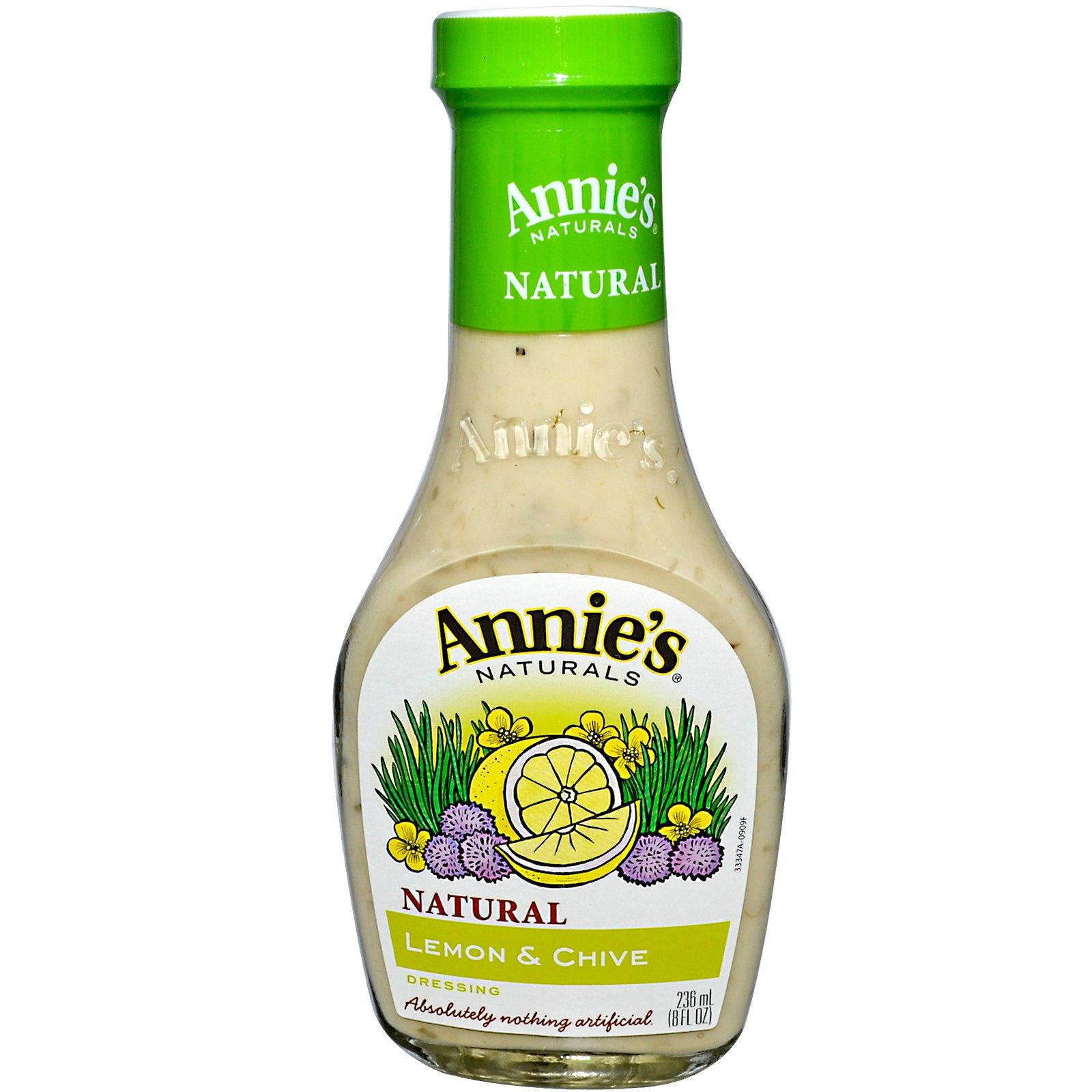 Annie's Naturals, Соус с лимоном и луком, 8 жидк. унц. (236 мл)