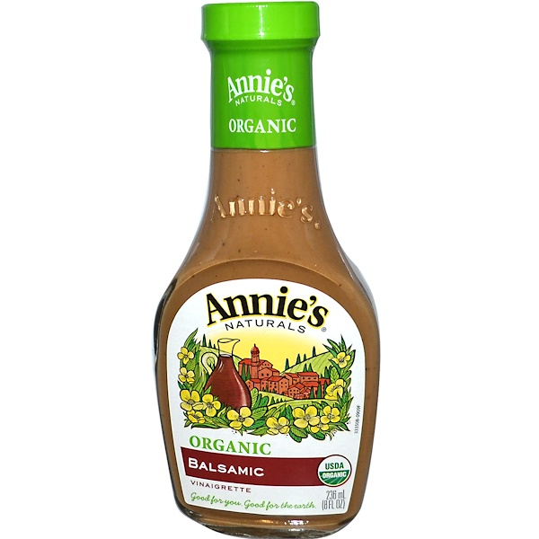 Annie's Naturals, Organic, Balsamic Vinaigrette, 8 fl oz (236 ml) (Discontinued Item)