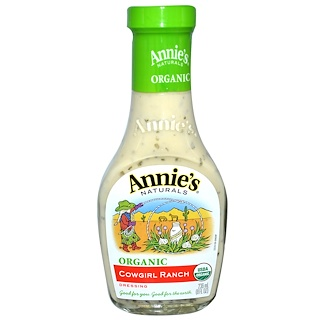 Annie's Naturals, Organic, Cowgirl Ranch Dressing, 8 fl oz (236 ml)