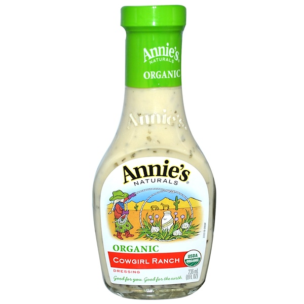 Annie's Naturals, Organic, Cowgirl Ranch Dressing, 8 fl oz (236 ml)