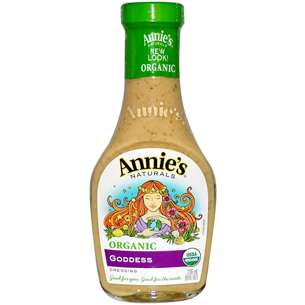 Annie's Naturals, Organic Goddess Dressing, 8 fl oz (236 ml) (Discontinued Item)