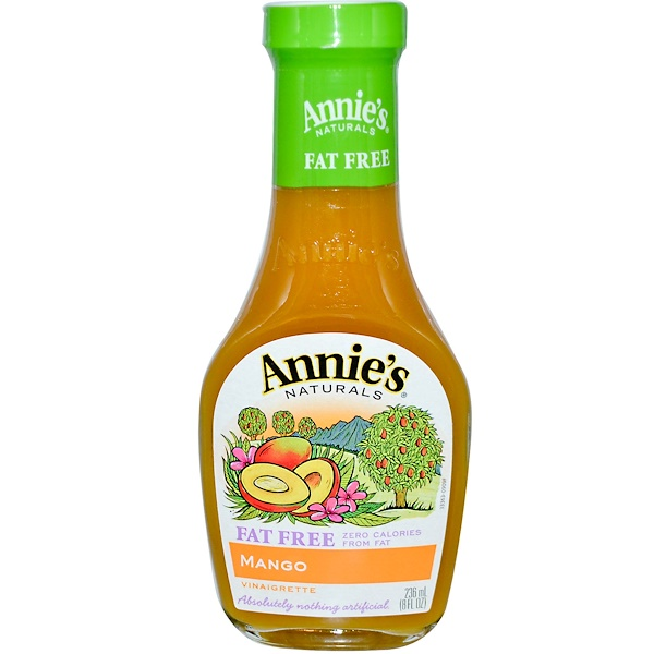 Annie's Naturals, Fat Free, Mango Vinaigrette, 8 fl oz (236 ml) (Discontinued Item)