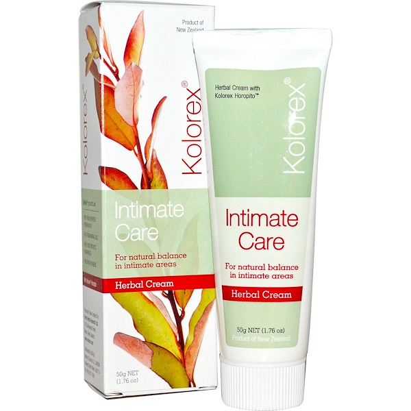 Kolorex, Intimate Care, Herbal Cream, 1.76 oz (50 g)