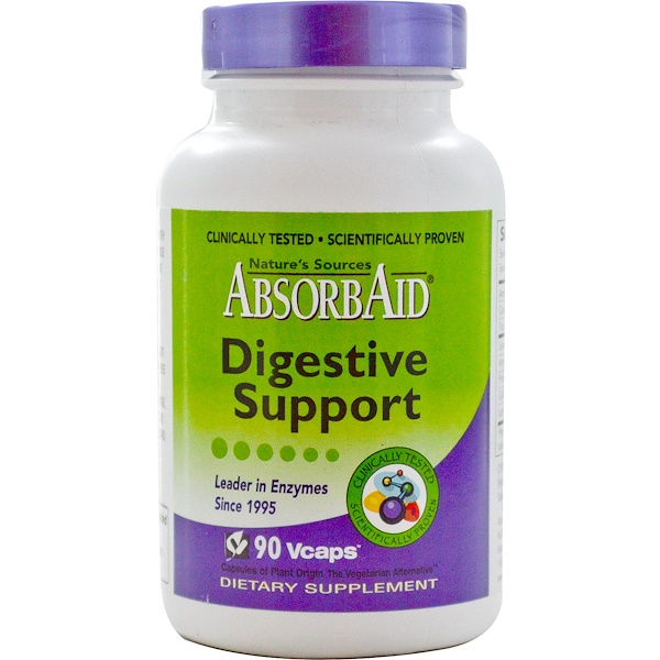 Kolorex, AbsorbAid, Digestive Support, 90 Vcaps (Discontinued Item)