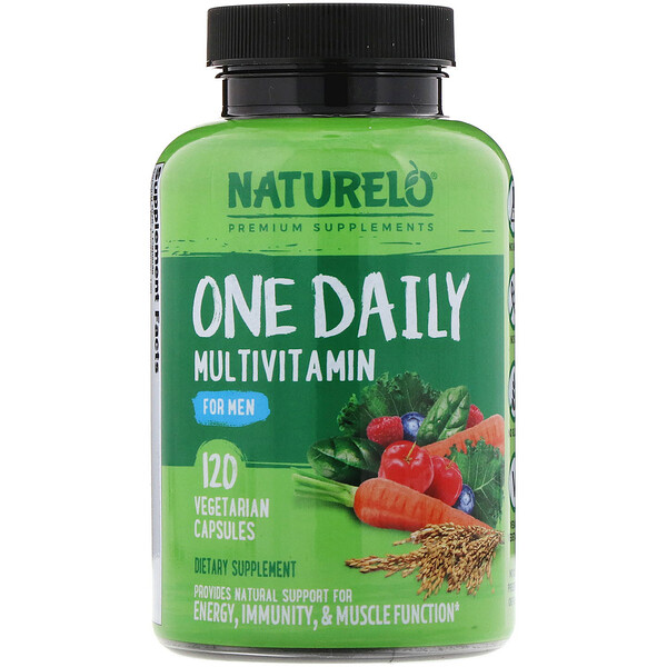 One Daily Multivitamin for Men, 120 Vegetarian Capsules