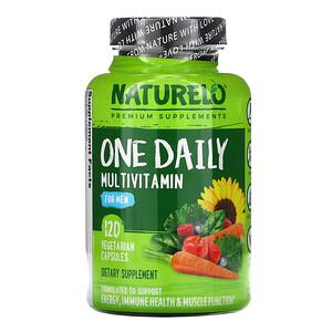 NATURELO, One Daily Multivitamin for Men, 120 Vegetarian Capsules отзывы