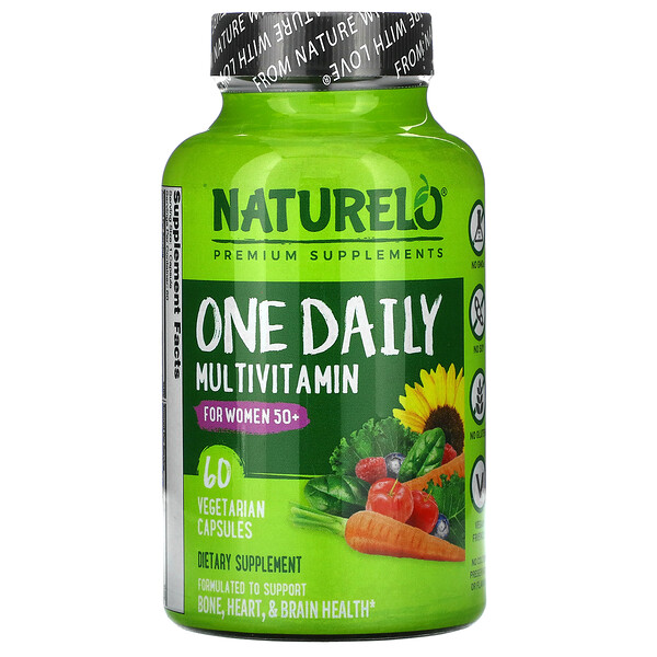 One Daily Multivitamin for Women 50+, 60 Vegetarian Capsules