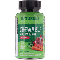 Chewable Multivitamin for Children, 60 Chewable Tablets - фото