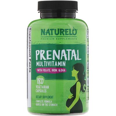 Купить NATURELO Пренатальный мультивитамин, 180 вегетарианских капсул
