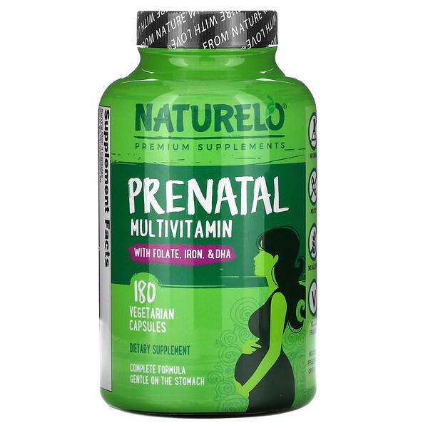 Prenatal Multivitamin, 180 Vegetarian Capsules