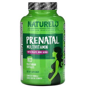 NATURELO, Prenatal Multivitamin, 180 Vegetarian Capsules отзывы покупателей