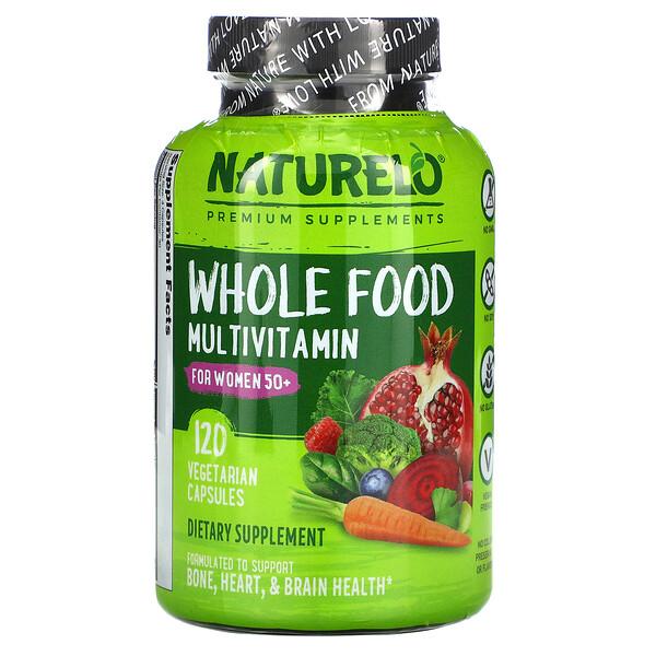 Whole Food Multivitamin for Women 50+, 120 Vegetarian Capsules