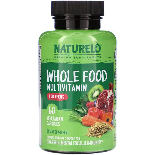 Whole Food Multivitamin for Teens, 60 Vegetarian Capsules