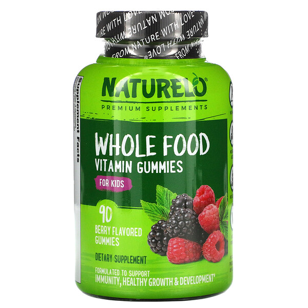 Whole Food Vitamin Gummies for Kids, Berry , 90 Gummies