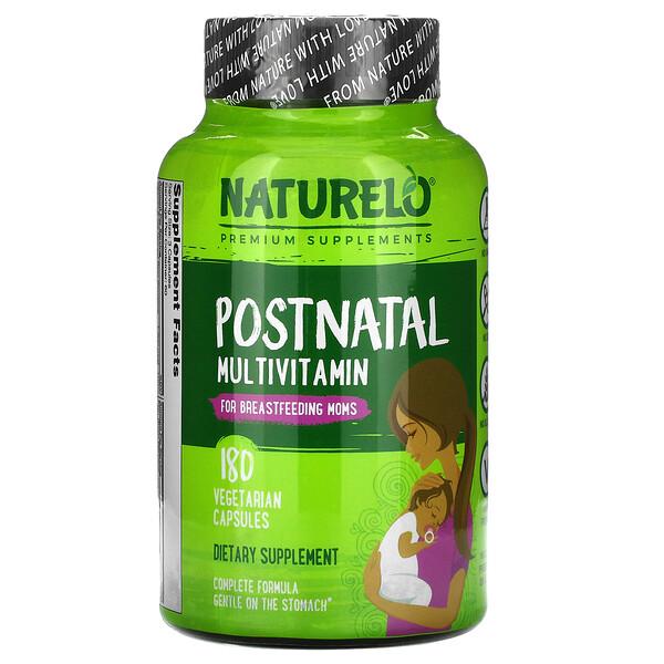 Postnatal Multivitamin for Breastfeeding Moms, 180 Vegetarian Capsules