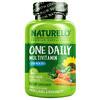 NATURELO, فيتامينات متعددة من One Daily للرجال بعمر أكبر من 50 عامًا، 60 كبسولة نباتية