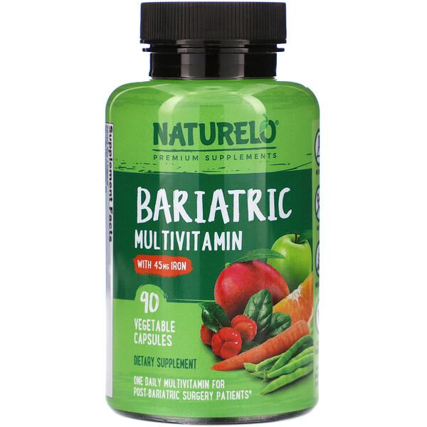 NATURELO, Bariatric Multivitamin, 90 Vegetable Capsules