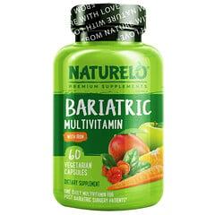 NATURELO, 肥胖調節含鐵複合維生素素食膠囊,60 粒裝