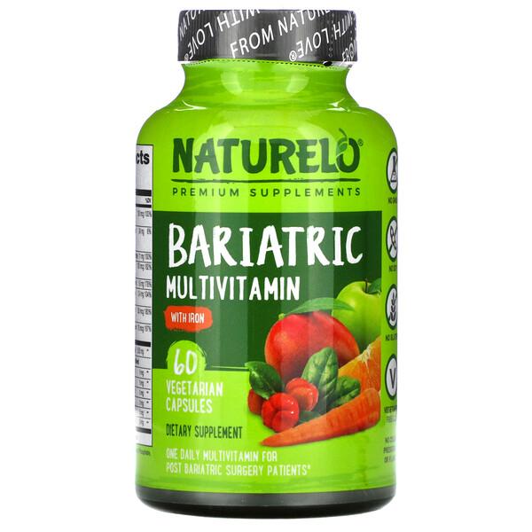 Bariatric Multivitamin with Iron, 60 Vegetarian Capsules