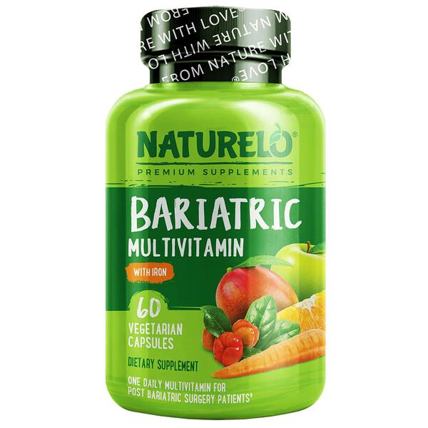 متعدد الفيتامينات متناسب مع السمنة معزز بالحديد، 60 كبسولة نباتية