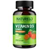 NATURELO, Vitamin D3 Gummies, Mixed Fruit Flavor, 90 Vegetarian Gummies