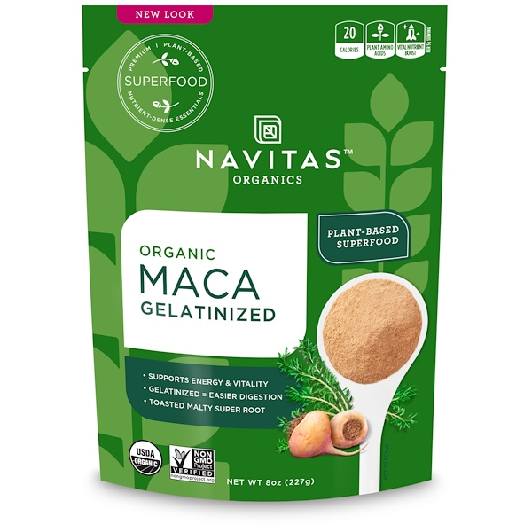 Navitas Organics, Organic Maca Gelatinized, 8 oz (227 g) (Discontinued Item)