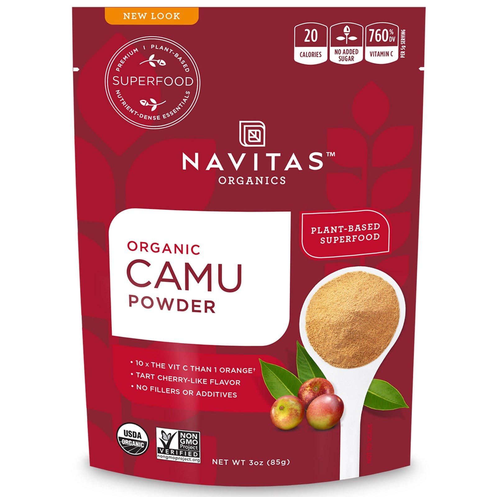 Navitas Organics, Organic, порошок камю, 3 унц. (85 г)