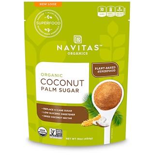 Navitas Organics, Azúcar orgánica de coco, 16 oz (454 g)