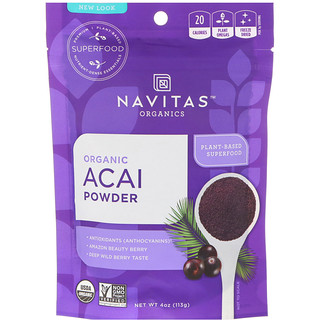 Navitas Organics, Organics Acai Powder, 4 oz (113 g)